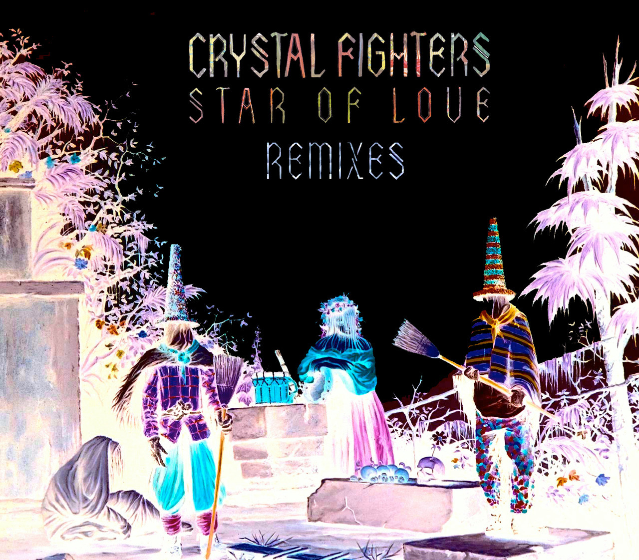 "?¿?¿ WHAT'S HOT IN THE NEW CRYSTAL FIGHTERS'S STAR OF LOVE REMIX ALBUM ?¿?¿WELL DON'T MISS THE TRIBAL MOOMBAH OF Totally Enormous Extinct Dinosaurs ON ""XTATIC TRUTH"" , THE SICKEST BASS MUSIC OF DisclosureON ""AT HOME"".BUT OUR FAVOURITE IS THE ONE BY Lapalux ON PLAGE, WHAT AN INCREDIBLE PRODUCER. THIS IS NOT A SONG IS A NEW WORLD ☮"