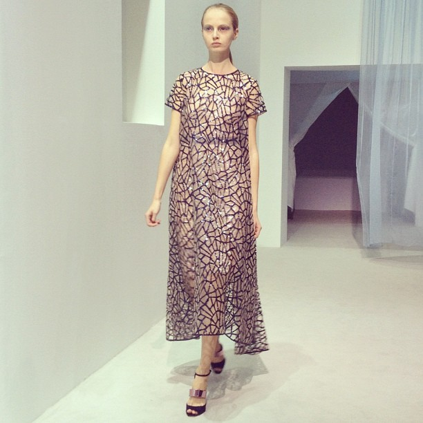 Clearly a favorite #diorshow #pfw (Taken with Instagram)
