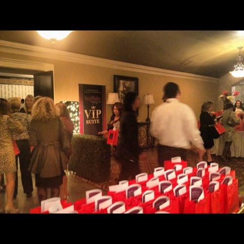 Entrance to the @buffalomagdotcom VIP gifting suite, a huge success! #mbbfw #buffalonagazine  (Taken with Instagram at Statler City )