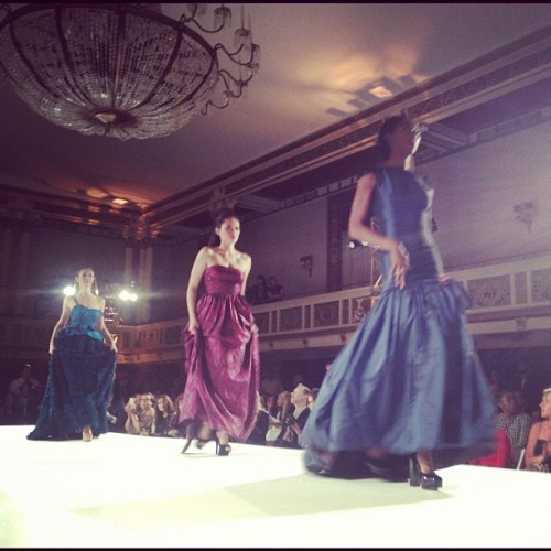 Amazing gowns from @prajje, who kicked off the main runway show! #mbbfw #prajje1983  (Taken with Instagram at Statler City )
