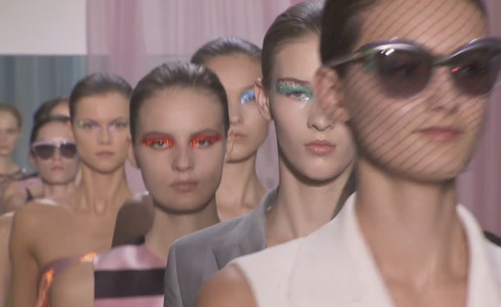 DIOR RAF DEBUT Ready-to-Wear SPRING 2013