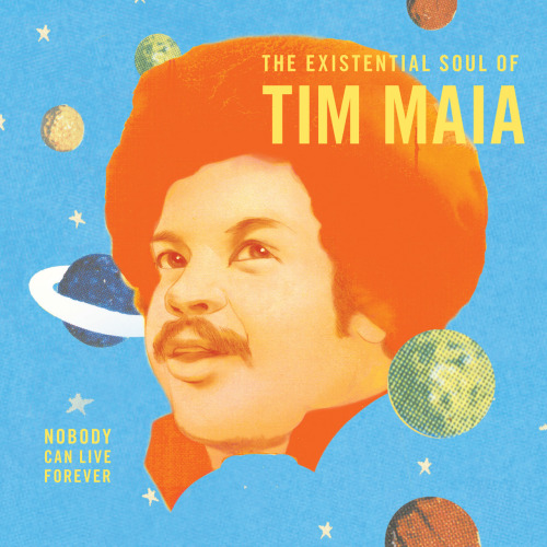 Had he not died of a heart attack onstage in 1998, Tim Maia would turn 70 today, September 28. Luaka Bop is celebrating with a worldwide birthday celebration spanning four continents over 24 hours, featuring tribute shows, DJ sets and live performances, and more. Go here for more information on the events: http://www.facebook.com/TimMaiaOfficial/events After a decade of legal wrangling, Nobody Can Live Forever: The Existential Soul of Tim Maia, the latest installment in Luaka Bop's World Psychedelic Classics series, is out Oct 2, and the entire album is now streaming exclusively via Slate: http://slate.me/QxJsvq Nobody Can Live Forever: The Existential Soul of Tim Maia is going for adds at radio NOW!