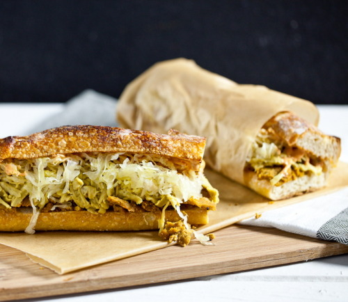 findvegan:  The Philly Reuben Sandwich