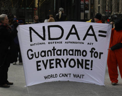 "Americans already detained under NDAA? September 28, 2012 The plaintiffs that are suing US President Barack Obama over his insistence on keeping the National Defense Authorization Act on the books said Thursday that they fear Americans are already being held indefinitely and without trial under the NDAA. US President Barack Obama refrained from even once commenting on his efforts to keep his power to indefinitely detain Americans without charge when he appeared on Reddit.com recently and urged users to ""Ask Me Anything."" His opponents in the matter aren't shying away from speaking up online, though. The plaintiffs in the case to ban the White House from imprisoning Americans indefinitely without trial or due justice took to Reddit on Thursday to answer questions involving the National Defense Authorization Act of Fiscal Year 2012, or the NDAA, and blamed corrupt media and a broken governmental establishment for letting the Obama administration maintain its to book Americans in military prisons without charge. On December 31, 2011, President Obama authorized the NDAA, and with it he approved a controversial provision that permits the government to indefinitely detain US citizens without trial for mere allegations of ties to suspected terrorists. Journalists and activists filed a lawsuit against the president earlier this year over the provision, Section 1021, which US Federal Judge Katherine Forrest in turn agreed was unconstitutional. Last month Judge Forrest decided that anearlier, temporary injunction on the clause should be made permanent, but the Obama Justice Department pleaded for an emergency stay only hours later. A lone federal appeals judge has since heard that plea and has momentarilyblocked Judge Forrest's injunction. Now pending the results of an appeals panel's formal investigation, the NDAA's indefinite detention provision remains on the books. On Thursday, the plaintiffs in the case — journalist Chris Hedges, activist Tangerine Bolen, Pentagon Papers leaker Dan Ellsberg, their attorneys and others — told users of Reddit to ask them anything. ""The Obama DOJ has vigorously opposed these efforts, and immediately appealed her ruling and requested an emergency stay on the injunction – claiming the US would incur 'irreparable harm' if the president lost the power to use Section 1021 – and detain anyone, anywhere until the end of hostilities on a whim. This case will probably make its way to the Supreme Court,"" the plaintiffs acknowledged in their introduction. From there, President Obama's opponents in federal court combed through hundreds of posts to answer questions regarding the NDAA over the course of several hours. And although the plaintiffs have not exactly been silent with the status of their fight since suing the White House earlier this year, the insight they offered on Reddit provided a fresh update on the case against the NDAA amid some of the government's most unusual legal maneuvers yet. Offering his take on the case, Hedges said that he even believes the NDAA's indefinite detention clause is already being used to imprison Americans, ""because they filed an emergency appeal."" ""If the Obama administration simply appealed it, as we expected, it would have raised this red flag,"" Hedges added.""But since they were so aggressive it means that once Judge Forrest declared the law invalid, if they were using it, as we expect, they could be held in contempt of court. This was quite disturbing, for it means, I suspect, that US citizens, probably dual nationals, are being held in military detention facilities almost certainly overseas and maybe at home."" ""The signing statement is the most ridiculous part to this for me. He writes this statement saying he's not happy about the power existing, but then his administration fights so hard to keep that specific power in place,"" Reddit user devilrobotjesus responded. ""If Obama didn't want it to happen, he would not have signed it, especially after stating that he would veto it,"" co-counsel Carl Mayer explained. Mayer has represented the plaintiffs in the case of Hedges v. Obama and said that he plans on continuing his pursuit to take indefinite detention off the books. ""We will do whatever it takes,"" Mayers added. ""We are prepared for a Supreme Court battle."" Activist and journalist Tangerine Bolen is also insistent on prevailing over the Obama administration, but says ""The biggest obstruction to our winning this case … is our broken systems."" Bolen blames a lack of media coverage, insufficient public awareness ""and the government behaving very badly, even in court, on the record,"" for the difficulties the plaintiffs have had to endure, adding that the Obama administration's constant missteps have been noticed by no one except ""seven plaintiffs, four attorneys, one federal judge and the activists who have been following this case."" ""Amazing,"" she added. Journalist Chris Hedges extrapolated on Bolen's opinion, singling out ""a corporate-owned system of information"" for not informing Americans that they can be imprisoned without trial at this very moment. ""MSNBC, which is a propaganda arm of the Democratic establishment, just as Fox is a propaganda arm of the Republican establishment, is not going to raise this as Obama is as guilty as Romney. If we had a healthy press this would have gotten more coverage, although the print media, and in particular my old paper the NY Times, finally did good coverage,"" Hedges wrote. Daniel Ellsberg, the former Defense Department employee who achieved notoriety a generation earlier by leaking what became known as the Pentagon Papers, agreed that the system is severely in fault in this instance. ""Virtually every public institution has failed us gravely. Not only the executive, but the courts, congress, most of the media and most of the churches,"" Ellsberg wrote on Reddit. ""Radical reform is needed, even to the point of non-violent revolution. "" Source"