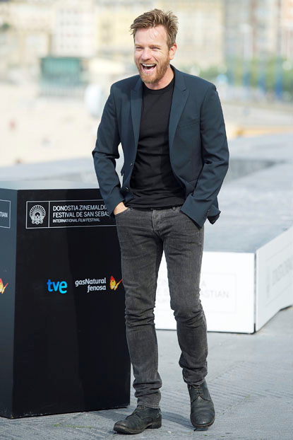 Scotish Actor Ewan McGregor at the 60th San Sebastian International Film Festival on Sept 27th.