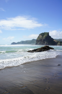 Piha Beach, North Island, New Zealand submitted by: you-liked-it-when-i, thanks!