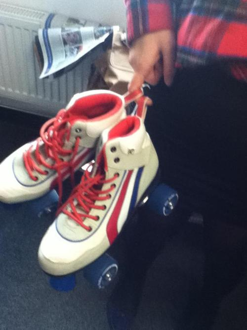 rule no.154 of 6th form: do not go out and buy really awesome roller skates in your free time