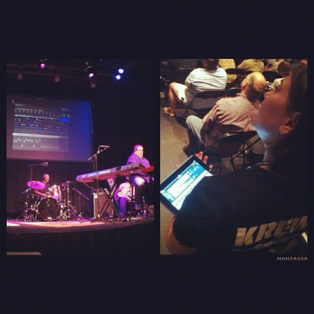 #PreSonuSphere 2012: Workshop on live #mixing using the @PreSonus Q-Mix mobile app.  (Taken with Instagram)