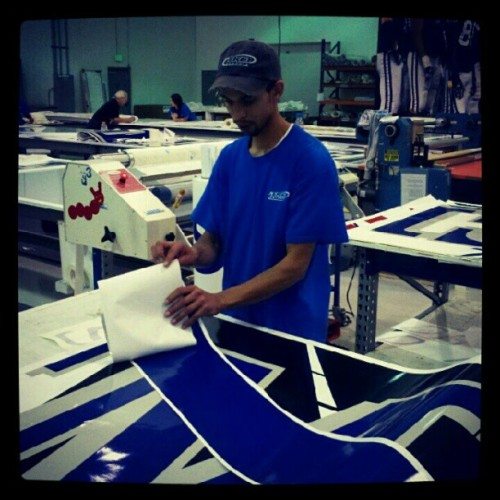 TKO Graphix Finishing Department (Taken with Instagram)