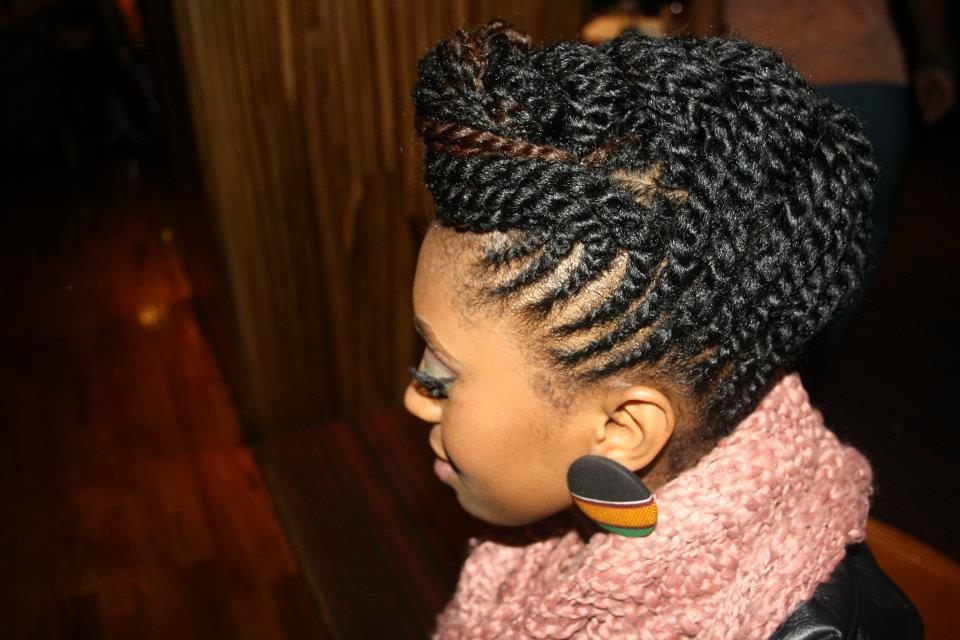 Have you mastered Flat Twists??   Source: www.blackgirllonghair.com