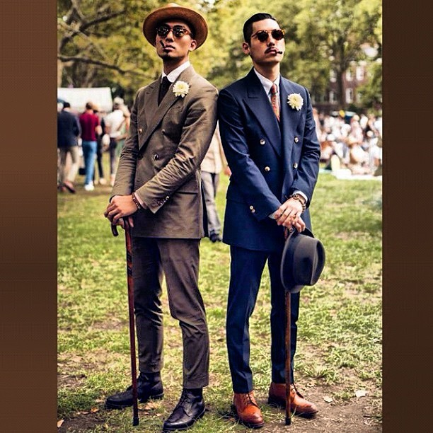 Distinguished #Gentlemen [#Style #Suited #Classic Photo: OPIOCreations.Tumblr.com @OpioCreations] (Taken with Instagram)