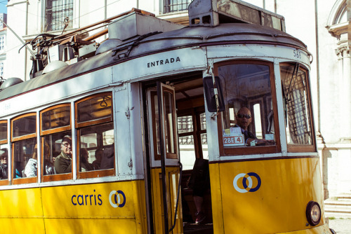 Lisbon Tram 28 by Dmitri Korobtsov on Flickr.
