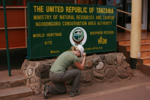 T-Safari, Tebowing in Tanzania, Africa