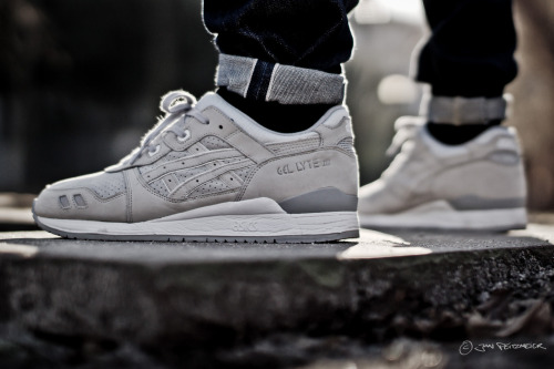 sweetsoles:  Ronnie Fieg x Nice Kicks x Asics Gel Lyte III '2.0'