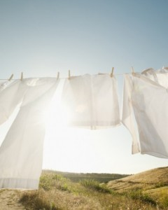 "theweekmagazine:  New laundry detergent makes your clothes remove pollution from the air In an unusual collaboration of form and function, scientists from the University of Sheffield and designers from the London College of Fashion have teamed up to create a liquid laundry additive, CatClo (Catalytic Clothing), that turns your clothes into pollution magnets using the magic of nanotechnology.  The laundry additive coats your clothes with minuscule particles of titanium dioxide, which, when exposed to daylight, attract nitrogen oxides — a major source of pollution — from the air. You only have to use CatClo once per clothing item, the developers say, as ""nanoparticles of titanium dioxide grip onto fabrics very tightly."" The additive can remove 5 grams of nitrogen dioxide a day — the same amount as emitted daily by an average family car, says the University of Sheffield's Tony Ryan — and the pollutants wash off your clothes the next time you do the laundry. ""Not a bad haul for simply getting dressed in the morning,"" says Clay Dillow at PopSci. Keep reading…"