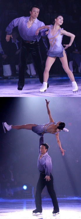 Xue Shen and Hongbo Zhao skating to Caruso on the 2007 Canadian Stars On Ice tour.
