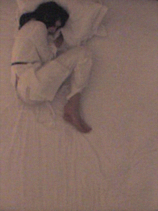 sleep, anna-maria cseh by nick knight, 2001