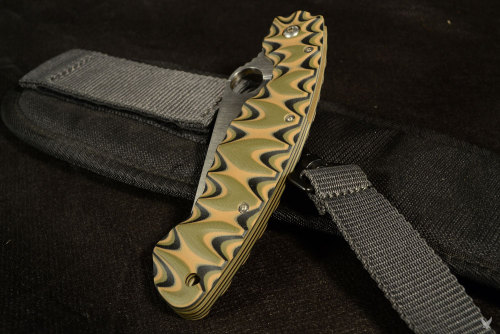 "Spyderco Military 1st. edt.  ""military"" Scales & Spacer G10 Multicam"