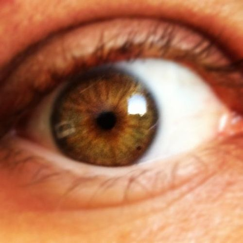 Creepy shot of my eye… I have no clue what I'm doing on the Internet today.