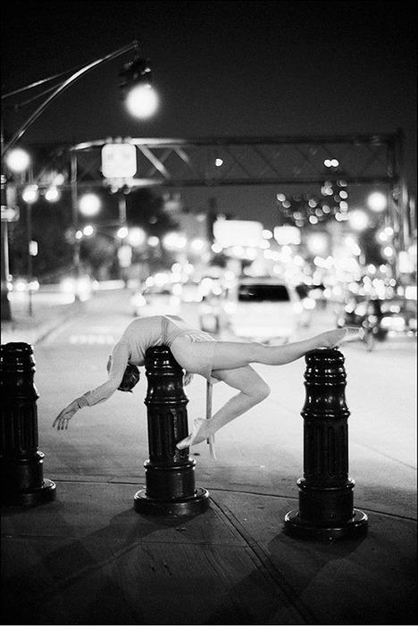 Ballerina in NYC