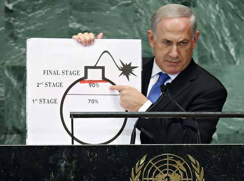 (via Netanyahu: Iran Almost Capable Of Building A Cartoon Bomb)