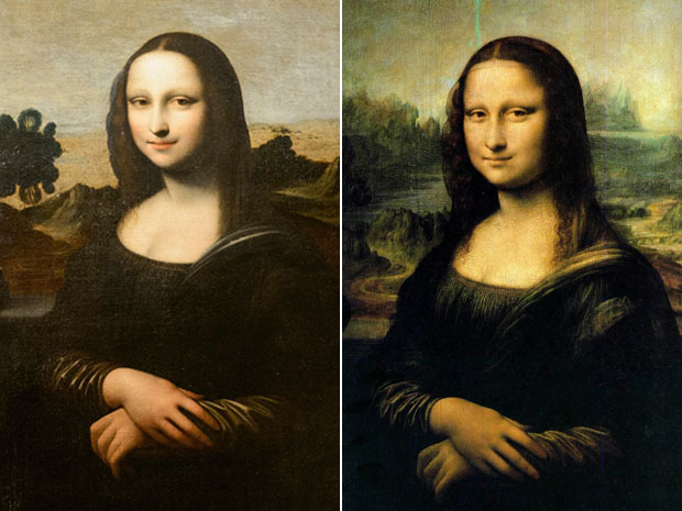 "nationalpost:  Mona Lisa MkI: Mysterious early version of Da Vinci's most famous portrait has art experts baffledGENEVA — The mystery behind the most enigmatic smile in art — Leonardo da Vinci's ""Mona Lisa"" — just got a little more complicated.In a coming-out party of sorts in Geneva, rounds of flashbulbs popped Thursday as the non-profit Mona Lisa Foundation pulled back the curtain to present what it claims is a predecessor of the world's most famous portrait. (Laurent Gillieron / Keystone / The Associated Press / Files)"