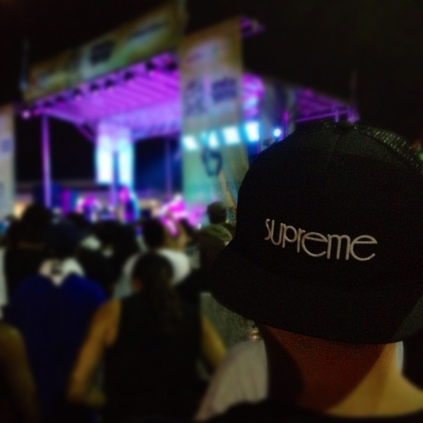 Supreme, Ice Cube, Rock the Bells 2012. (Taken with Instagram)