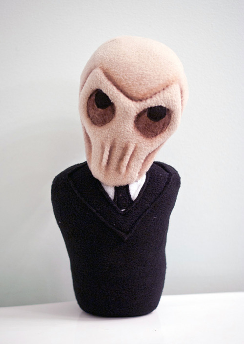 laughingsquid:  The Silence Plush Doll, Based Off of The BBC Doctor Who TV Series