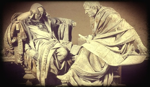 Eduardo do Barrón: Nero and Seneca (1904)