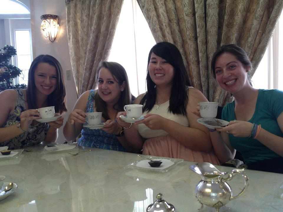 Some lovely sisters at AOTea High Tea!
