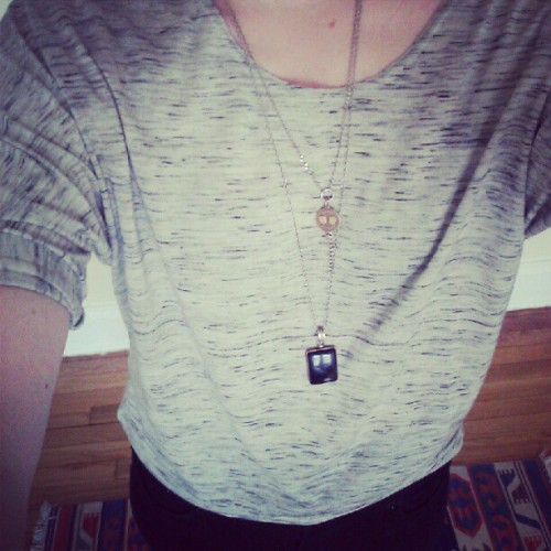 Another oversized grey shirt? Dont mind if I do… (Taken with Instagram)