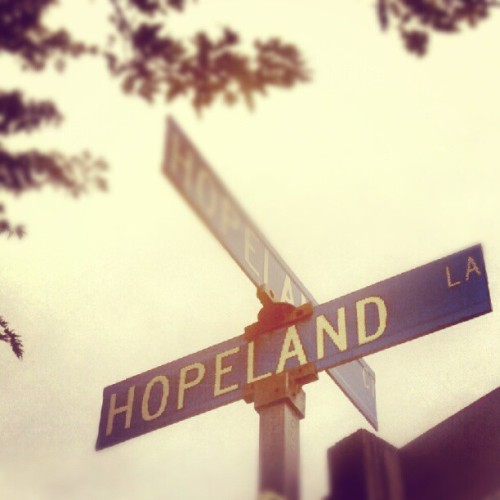 I love our little lane. #hope #land (Taken with Instagram)