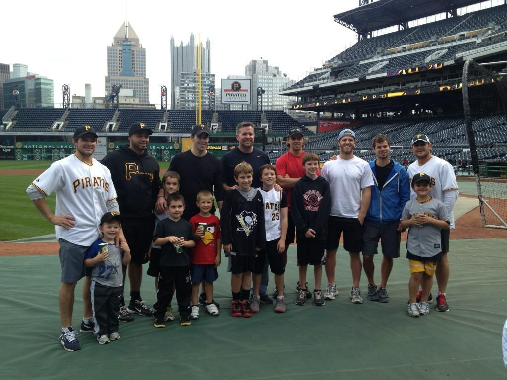 @JoeVitale46 Great day at the ballpark! Special thanks to Sean Casey and all the Pirates. Best swing goes to Nisky
