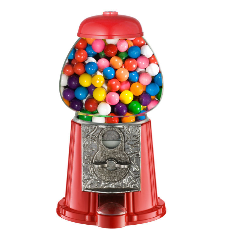 "Gumball machines… oh the sweet pleasures of childhood. Fortunately Gumball Machines are not that expensive, so if you want an oldschool one, with real glass globe, than this is for you. It works with every kind of coin, but the manufacturer gives instructions on how to operate it for ""free"". ;) Price: $25 [Amazon]"