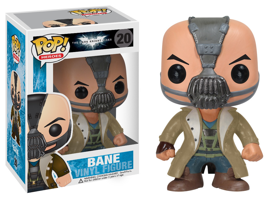 To tell the truth Bane was my favorite character in the the Dark Knight Rises. He was a lot cooler than the original Bane character in Batman & Robin (1997). This cute little vinyl figure of Bane is a great gift for any Batman fan. Price: $11 [Batman]