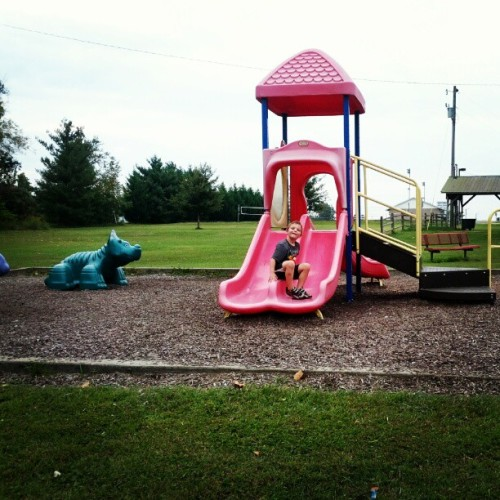 Playground time (Taken with Instagram)
