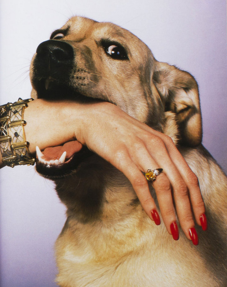 jesusaintdead:  Dogue Magazine