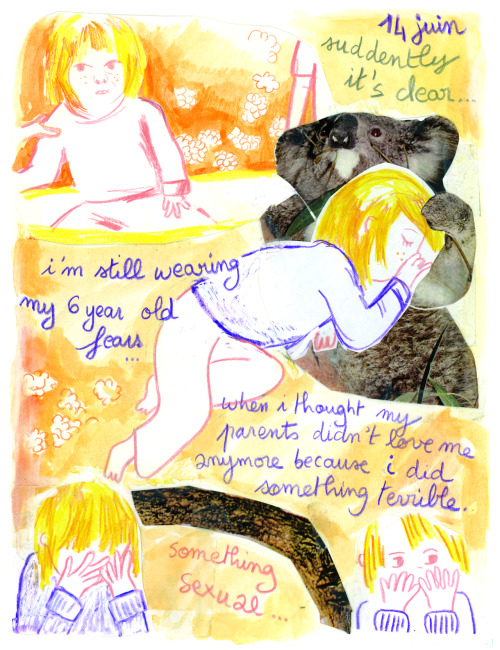 jasonoverby:  Julie Delporte from Comics as Poetry anthology