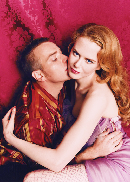 Ewan McGregor and Nicole Kidman - Elle UK by Lorenzo Agius, August 2001.