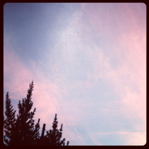 LA sky. #la #sky #clouds #bye (Taken with Instagram at Silver Lake)