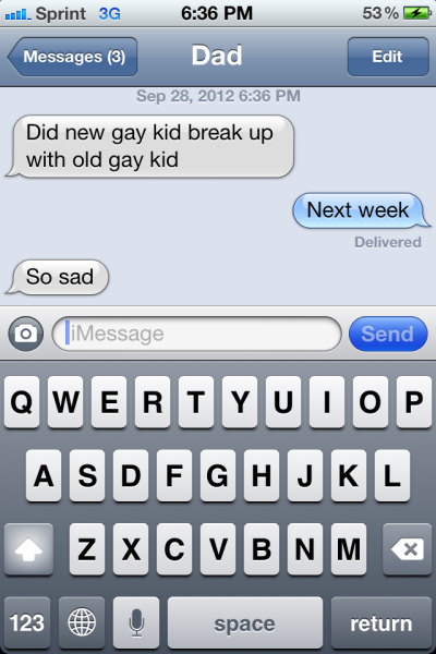 dancingstarkid:  My father loves Klaine