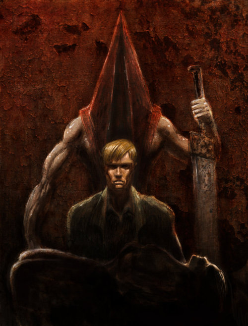 scumstains:  Silent Hill 2 by ~iangoudelock