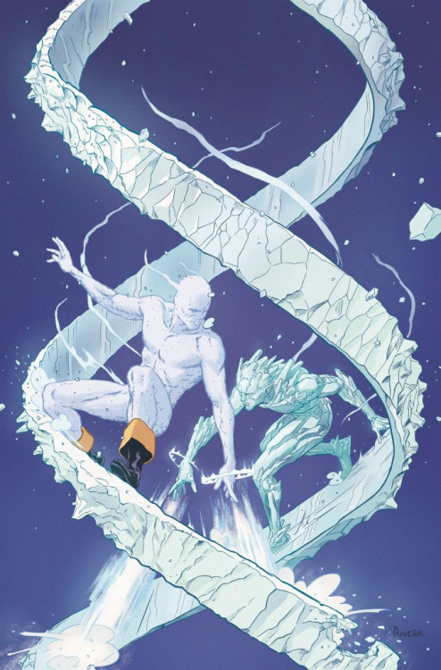 All-New X-Men #1 (Iceman variant) // Paolo Rivera