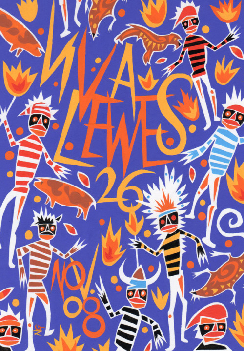 Viva Lewes, November 2008Cover design and illustration: Neil Gower See a collection of Neil Gower-illustrated Viva Lewes covers here