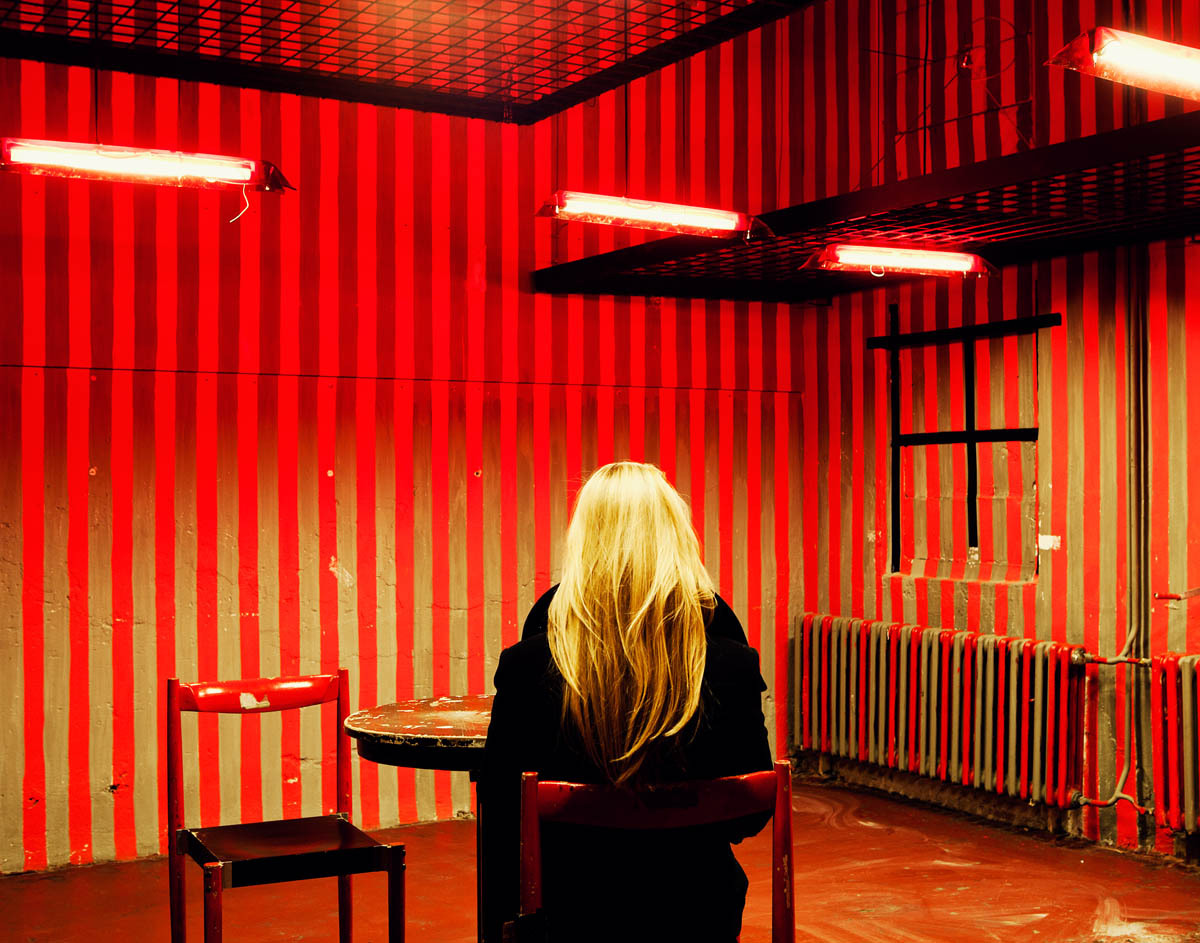 Another outtake. A very interesting art space and coffee shop in Prague. Shot for Afar Magazine, April 2012.