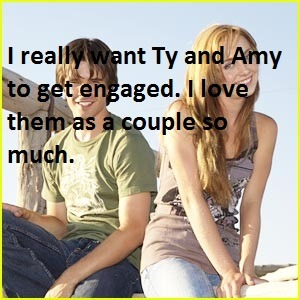 "confessions-heartland:  ""I really want Ty and Amy to get engaged. I love them as a couple so much.""   Throwback Thursday confession!"