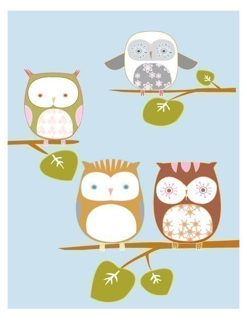 I love these cute owls!