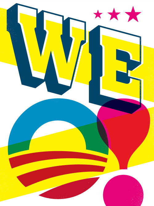 "Obama 2012 posterDesign: Gail Anderson and Joe Newton18"" x 24"" five-color silkscreen Available from the Obama for President campaign for $35!"