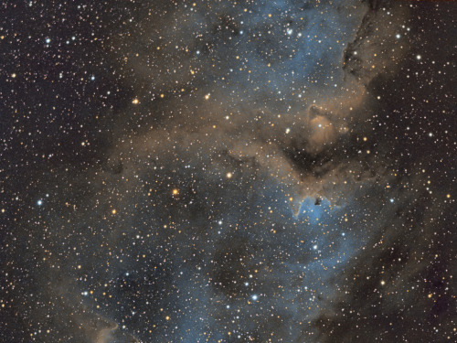 galaxyshmalaxy:  IC 1848 - Soul Nebula (Work in Progress) (by John.R.Taylor)