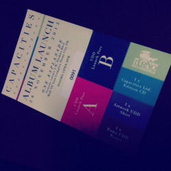 And This is Love - Got my tick for Up Dharma Down's Capacities Album Launch. ❤❤❤